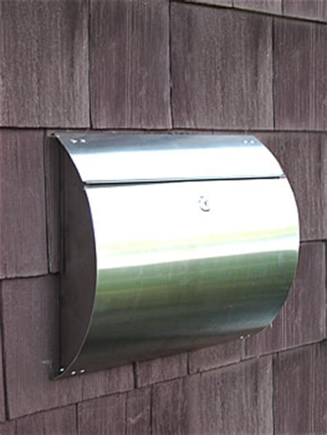 ikea mailbox helix spira stainless steel unique wall mount mailbox