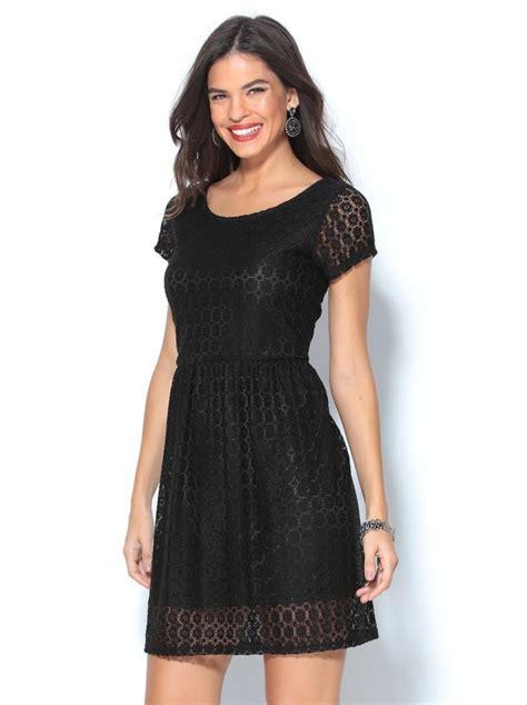 vestidos de fiesta manga corta vestido corto de fiesta negro de encaje manga corta