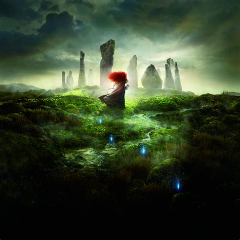 Wallpaper Brave, Princess Merida, Pixar, Animation, 5K
