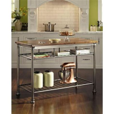 home styles orleans butcher black kitchen island in