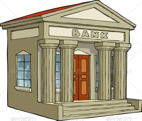 bank loan for house construction cartoon bank building 187 tinkytyler org stock photos graphics