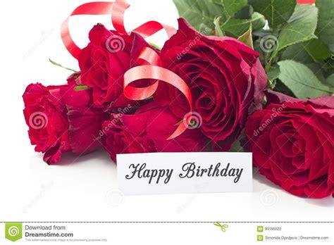 ramos de rosas para cumplea 241 os imagui tarjeta del feliz cumplea 241 os con el ramo de rosas rojas
