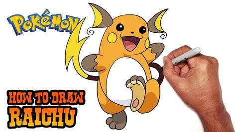 How To Draw Mega Raichu