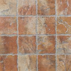 shop floors 2000 12 pack old world red glazed porcelain indoor outdoor floor tile common 13 in