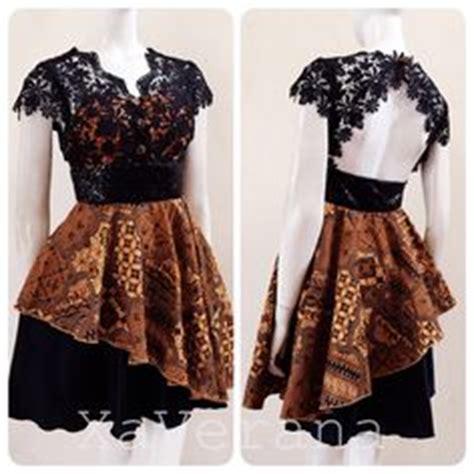 Blouse Batik Wanita Katun Sogan Lurik baju batik modern murah model dress batik
