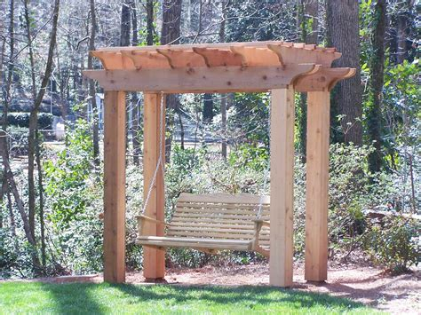 swing arbors scheduling challenges for outdoor projects