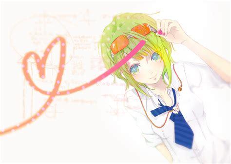 theme line vocaloid gumi vocaloid zerochan anime image board