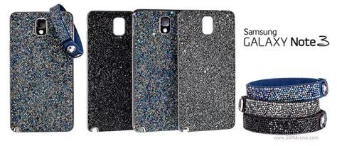 Anyland Swarovski Samsung Galaxy Note 3 samsung and swarovski launch limited edition galaxy note 3 covers and matching bracelets
