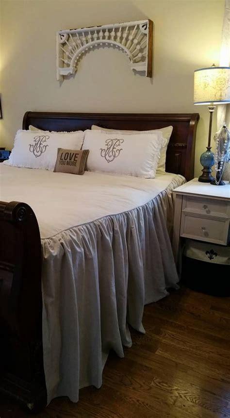 king size 100 cotton dropcloth bedding like joanna