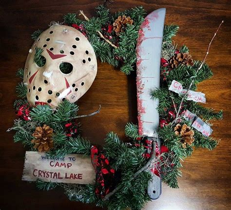 these horror movie wreaths bring halloween to the