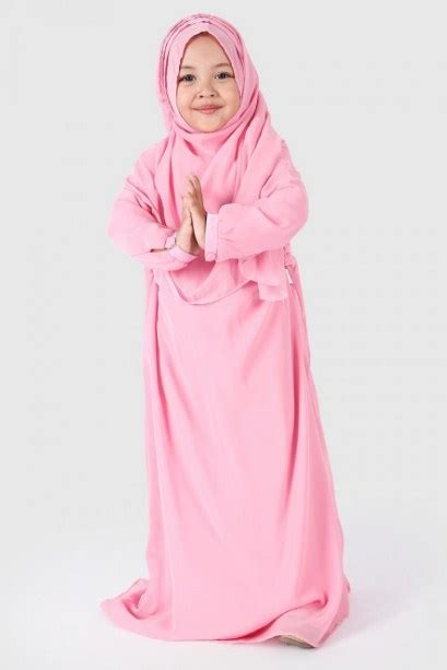 Baju Muslim Anak Perempuan Lebaran 25 Model Baju Lebaran Muslim Terbaru 2018 Atasan Dan