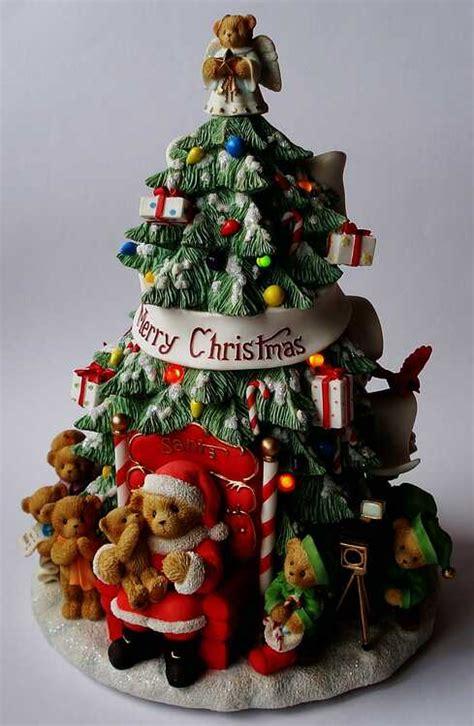 heidis cherished teddies galerie merry christmas tree  musical     merry