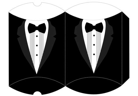 Paper Cut Out Pattern For Tuxedo Www Topsimages Com Paper Tuxedo Template