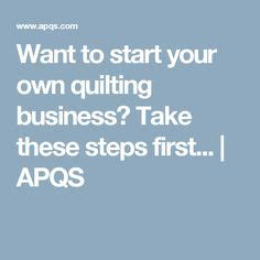 Starting A Quilting Business by If You Machine Quilting It S Possible To Turn Your Into A Income In This