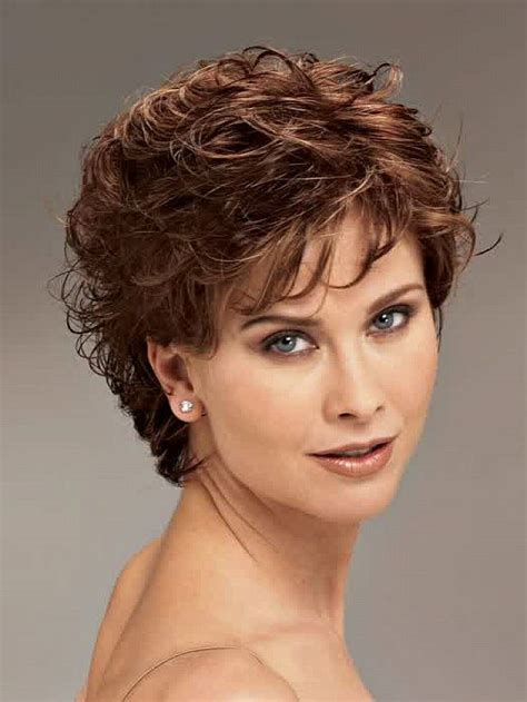 haircut for round face thin curly hair short hairstyles for fine hair over 50 round face short