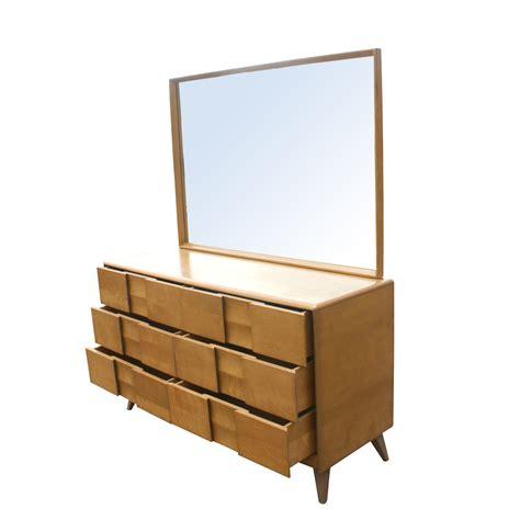 heywood wakefield trophy suite dresser and mirror ebay