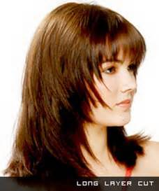 razor cut layered hairstyles for long hair collections