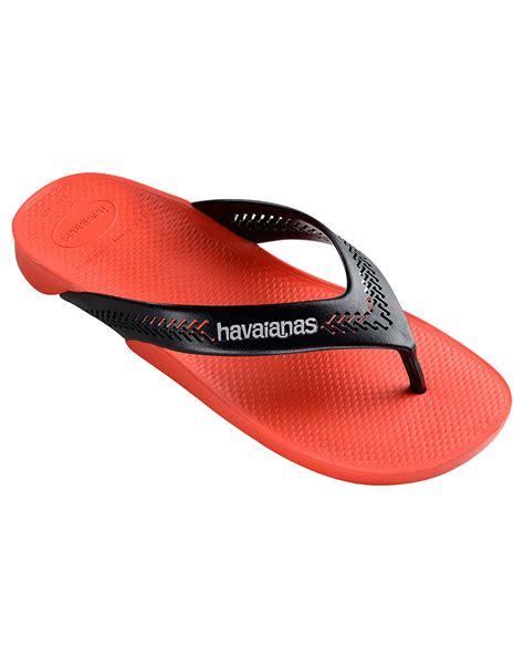Havaianas Leather 3 havaianas wide flip flops in for lyst