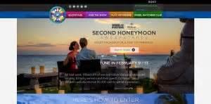 Honeymoon Sweepstakes 2017 - wheel of fortune second honeymoon sweepstakes