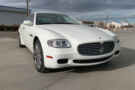 4 Door Maserati by 2007 Maserati Quattroporte 4 Door Sedan 200873