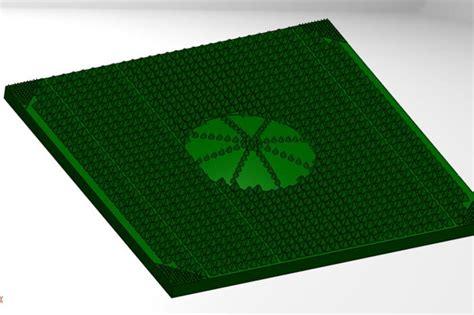 Cad Mat by Acupuncture Foot Mat Solidworks 3d Cad Model Grabcad