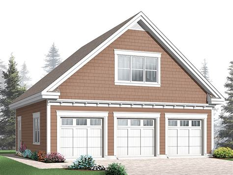 3 Car Garage Plans With Loft by Garage Loft Plans Three Car Garage Loft Plan 028g 0039