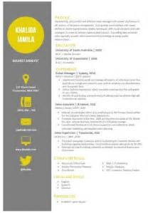 modern word resume templates modern microsoft word resume template khalida jamila by