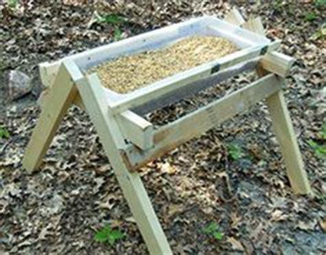 wooden deer feeder plans: how to make a diy deer feeder