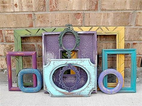 upcycled picture frame ideas samba upcycled vintage picture frame collection