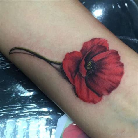 poppy tattoo tattoo designs tattoo pictures page 4
