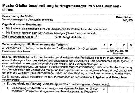 Bewerbung Im Verkaufsinnendienst Stellenbeschreibung Elektrotechnikerin Stellenbeschreibung Vorlagen Stellenbeschreibung Allg