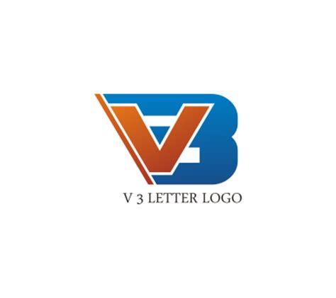 free logo design using letters v 3 letter logo design download vector logos free