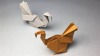 how to make origami turkey origami bird turkey