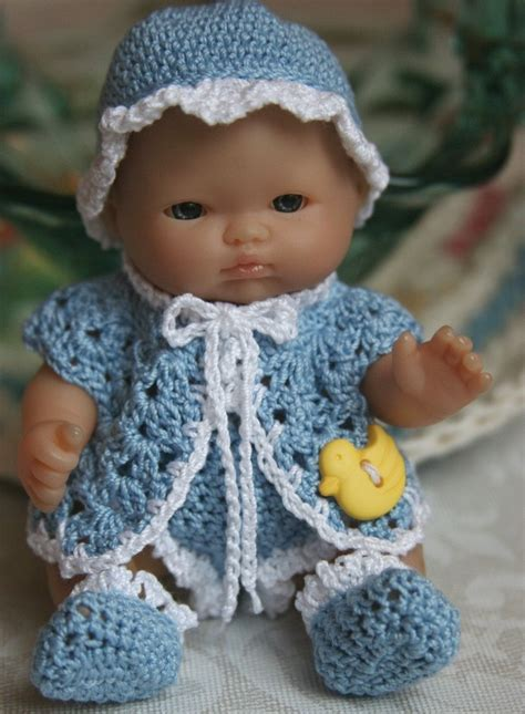 crochet pattern doll clothes crocheted baby doll crochet for beginners