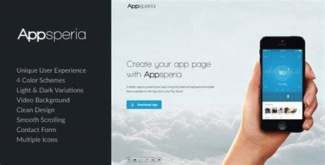 themeforest app landing page 6 july s free files of the month on themeforest
