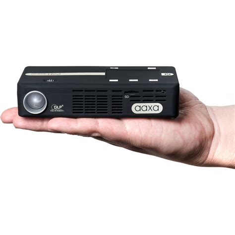 Android Projector by Aaxa Technologies P4 X Android 175 Lumens Wvga Dlp Kp 500