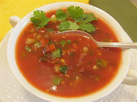 gazpacho cold soup for hot days of summer when food works