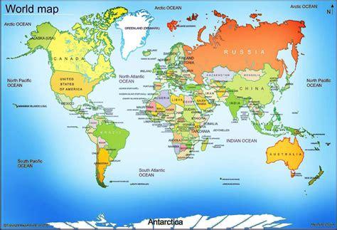 world map  large images maps world map