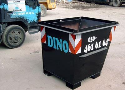 matratze entsorgen berlin dino container berlin fahrzeuge und container mieten
