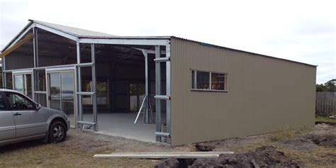 Kit Homes Sheds by Custom Class 1a Shed Home In Binalong Bay Tas