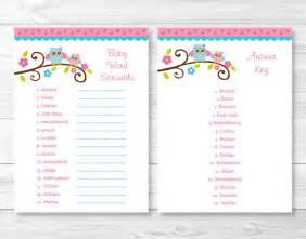 best photos of baby word scramble answer key baby shower