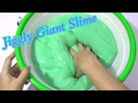 youtube membuat slime membuat slime how to make super jiggly giant slime