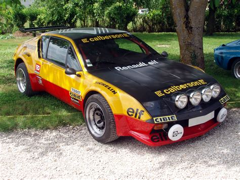 renault alpine a310 rally renault alpine a310 v6 rally car cars