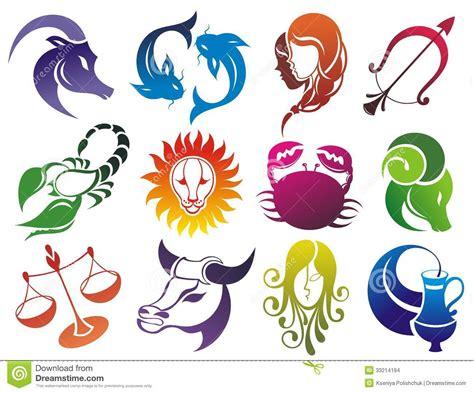 imagenes simbolos zodiaco sistema de s 237 mbolos del zodiaco imagenes de archivo