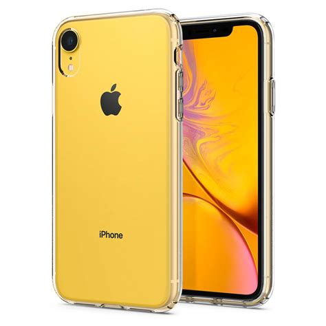 spigen  iphone xr case liquid crystal crystal clear cs istyle apple premium