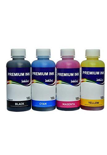 Tinta Dye Korea Canon 1literan Yellow tinten ausr 252 stungs dye inktec 4x100ml kompatible patronen 18 18xl f 252 r drucker epson xp 325