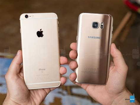 Harga Samsung S7 Edge Au samsung galaxy s7 edge vs apple iphone 6s plus call