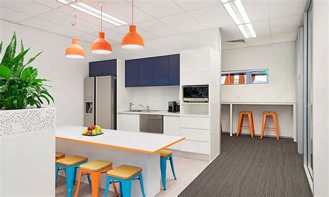 funky kitchens ideas funky custom kitchen design for newcastle corporate office design and fitout breakout space