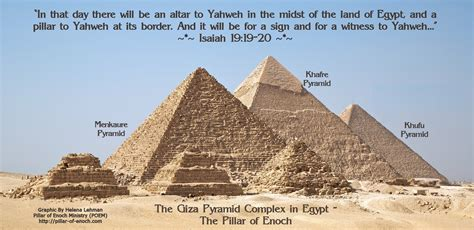 how the great pyramid was built books pillar of enoch ministry the witness of the pillar