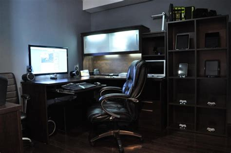 home office gaming setup pc home office setup home office pinterest